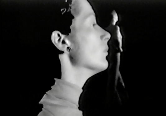"Still from Robert and Ingrid Wiegand, ""Julie,"" 1974. 1 videocassettes (U-Matic), Robert Wiegand papers and video art, 1953–1994. Archives of American Art, Smithsonian Institution."